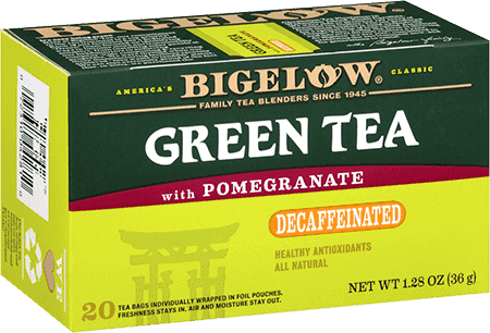 Bigelow Tea, Green Tea With Pomegranate, Decaf
