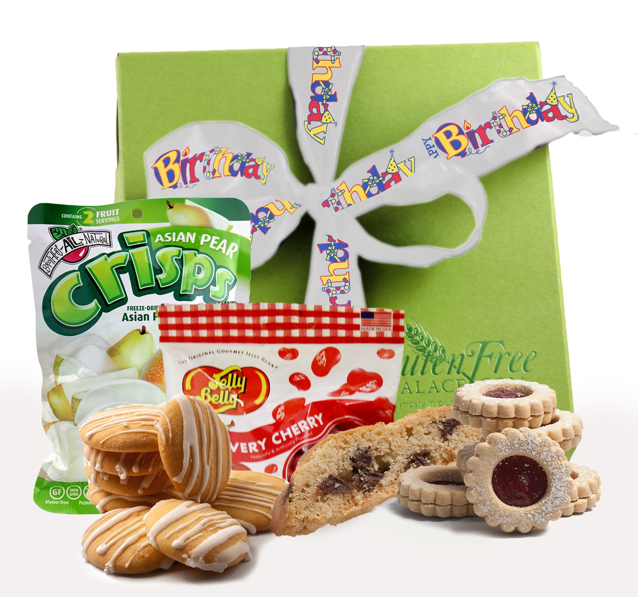 Its your special day happy birthday gift basket glutenfreepalace happy birthday gluten free gift box negle Choice Image