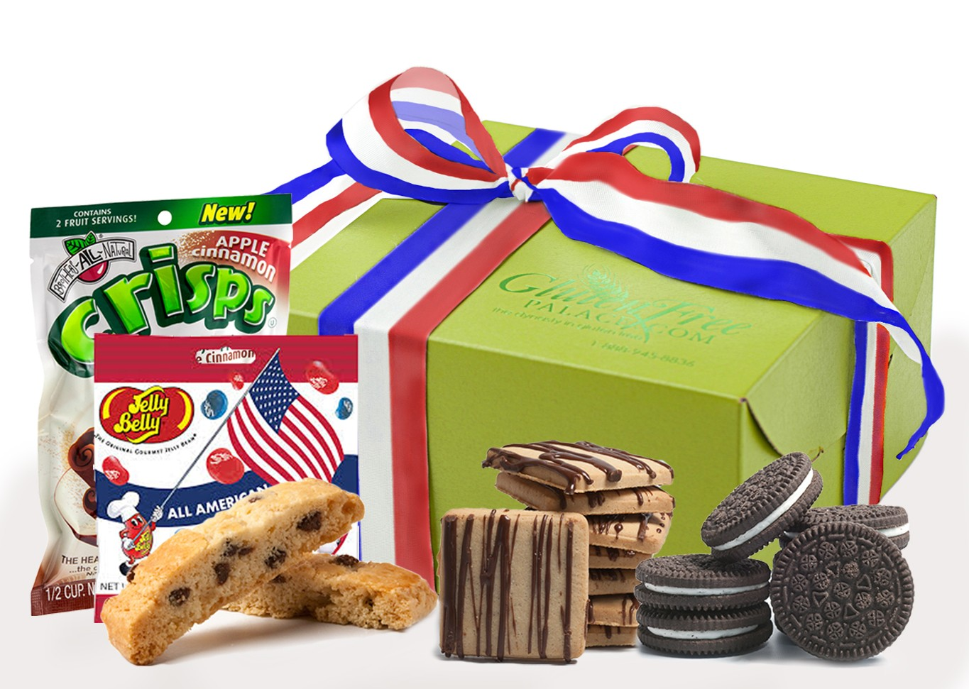 Celebrate independence day july 4th gift box celebrate independence day july 4th gluten free gift box negle Choice Image