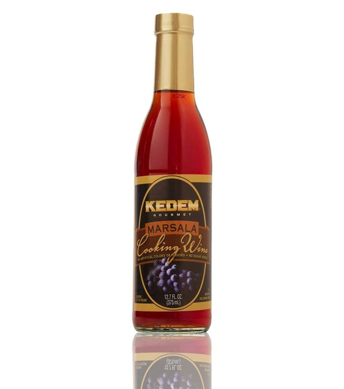 Kedem Marsala Cooking Wine, 12.7 Oz Bottle (Case of 12)