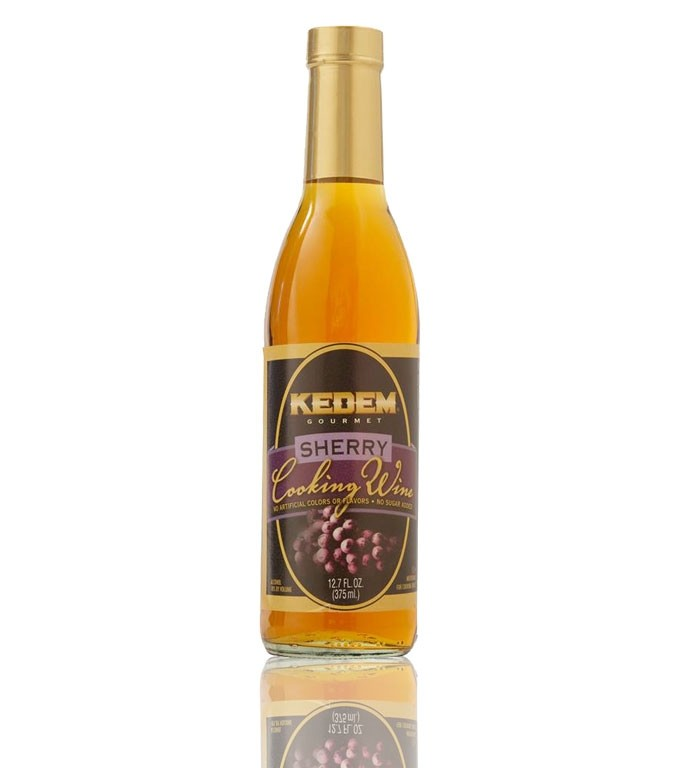 Kedem Sherry Cooking Wine, 12.7 Oz Bottle (Case of 12)