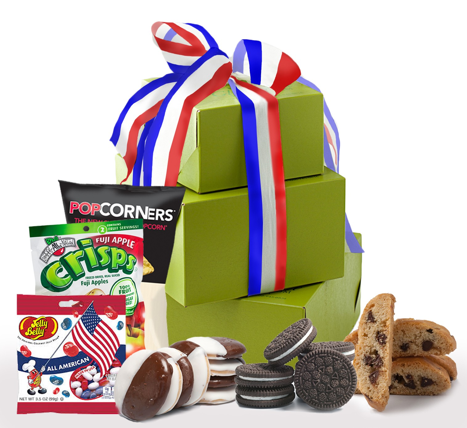 Celebrate Independence Day, July 4th Gift Tower
