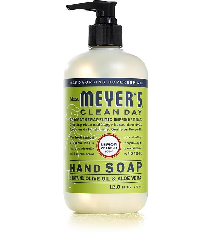 Mrs. Meyer's Clean Day Liquid Hand Soap, Lemon Verbena, 12.5 Oz