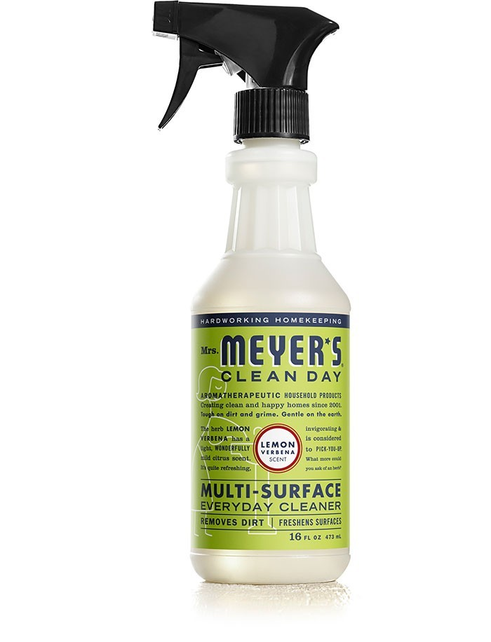 Mrs. Meyer's Clean Day Multi Surface Everyday Cleaner, Lemon Verbena, 16 Oz