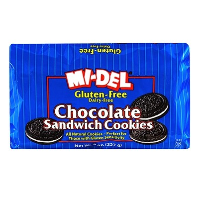 Gluten Free Chocolate Sandwich Cookie [Case of 12]