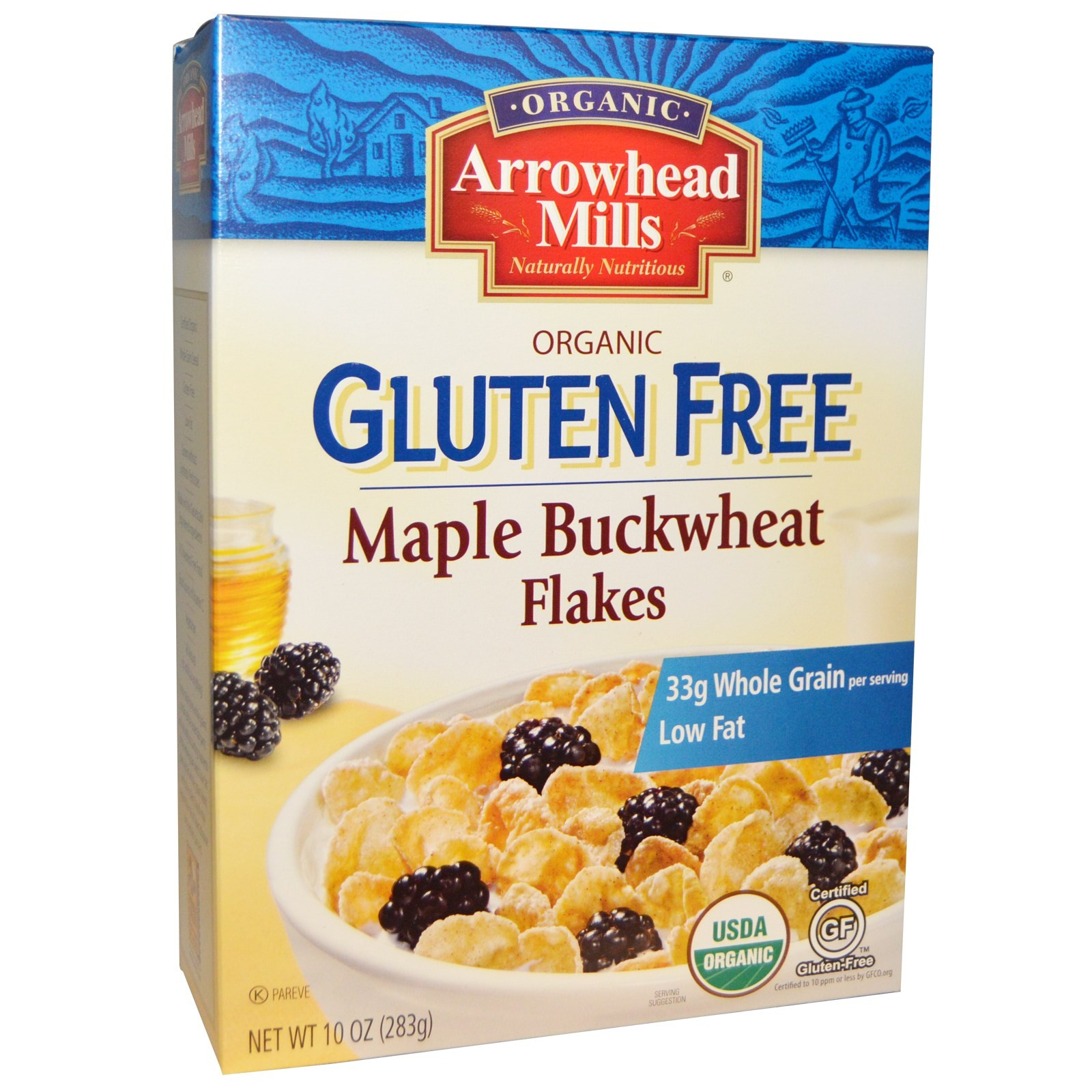 Arrowhead Mills Organic Maple Buckwheat Flakes Cereal