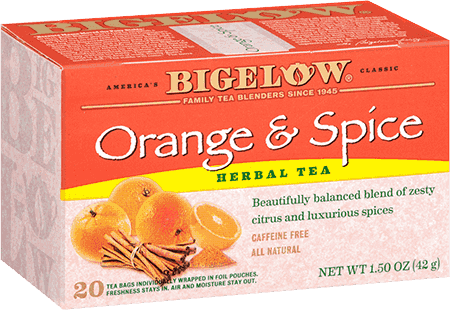 Bigelow Tea, Orange & Spice Herb Tea