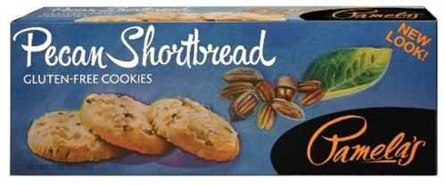 Pamela's Gluten Free Pecan Shortbread Cookies, 7.25 Oz [6 Pack]