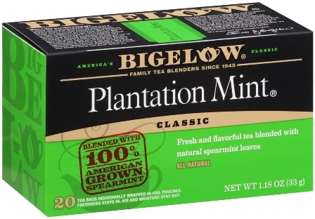 Bigelow Tea, Plantation Mint