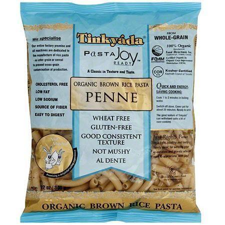 Tinkyada Organic Brown Rice Penne