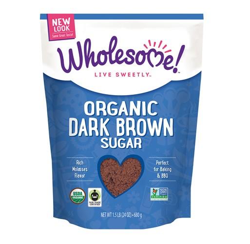 Wholesome Sweeteners, Dark Brown Sugar