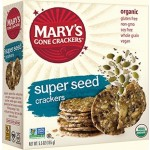 Mary's Gone Gluten Free Crackers, Super Seed, 5.5 Oz. Boxes (Pack of 12)