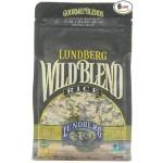 Lundberg Gluten Free Wild Blend, Gourmet Rice Blend, 1 Lb. Bag (6 Pack)