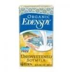 Eden Gluten Free Organic SoyMilk, Unsweetened, 32 Oz. (12 Pack)