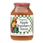 Eden Organic Gluten Free Apple Strawberry Sauce, 25 Oz. (12 Pack)