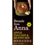 Breads From Anna Gluten Free Apple Pancake & Muffin Mix, 14 Oz (6 Pack)