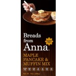 Breads From Anna Gluten Free Maple Pancake & Muffin Mix, 14 Oz (6 Pack)