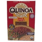 Ancient Harvest Gluten Free Organic Quinoa, Inca Red, 12 Oz (12 Pack)