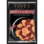Terra Chips, Gluten Free Sweets and Beets Potato Chips, 5 Oz Bag (Case of 12)