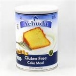 Yehuda Gluten Free Matzo Cake Meal, 15 Oz Canister [2 Pack]