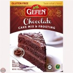 Gefen Gluten Free Chocolate Cake Mix With Frosting, 17 Oz (Case of 12)