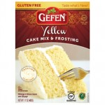 Gefen Gluten Free Yellow Cake Mix With Frosting, 17 Oz (Case of 12)