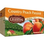 Celestial Seasonings Country Peach Passion Herbal Tea (6 Boxes)