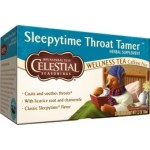 Celestial Seasonings Sleepytime Throat Tamer Wellness Tea (6 Boxes)