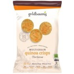 Goldbaum's Gluten Free Multigrain Quinoa Crisps, BBQ, Snack Bag (Case of 36)