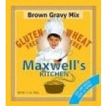 Maxwell's Kitchen Gluten Free Brown Gravy Mix - Case of 12