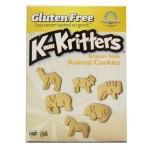 Kinnikinnick Gluten Free Kinnikritters Graham Style Animal Crackers - Case of 6