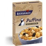 Barbara's Bakery Gluten Free Puffins Cereal, Multigrain, 10 Oz. (Case of 6)