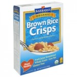 Barbara's Bakery Gluten Free Brown Rice Crisps, 10 Oz. (Case of 6)