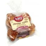 Katz Gluten Free Small Dinner Rolls - Case of 6