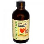 Childlife Liquid Vitamin C, Orange - 4 fl oz