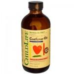Childlife Cod Liver Oil, Strawberry Flavored, 8 Fl Oz