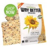 Way Better Snacks, Gluten Free Multigrain Tortilla Chips, 1.25 oz bag (Case of 12)