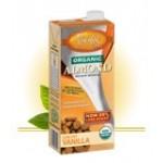 Pacific Foods Gluten Free Organic Almond Milk, Vanilla, 32 Oz. (12 Pack)