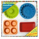 The Little Cook, Silicone Bakeware Set (4 Pc)