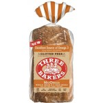 Three Bakers, Gluten Free Max Omega Bread, Whole Grain & 5 Seed Bread,  17 Oz Loaf