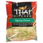 Thai Kitchen - Spring Onion Gluten Free Instant Rice Noodle Soup, 2.4 Oz [Case of 6]