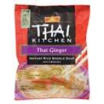 Thai KItchen Ginger Instant Gluten Free Rice Noodle Soup, 1.6 Oz [Case of 12]