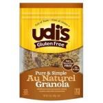 Udi's Gluten Free Foods - Gluten Free Au Naturel Granola