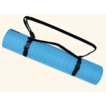 Wai Lana, Yoga Mat & Carry Strap, Caribbean Blue, 3 Lb Kit