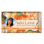 Wai Lana Raw Gluten Free Fruit & Nut Bar, Apricot Cashew, 2 Oz Pack (Case of 12)