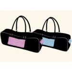 Wai Lana, Urban Yoga Mat Bag, Black & Light Blue, 3 Lb