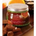 Wai Lana Yogaroma, Exfoliating Body Scrub, Orange & Chocolate, 28 Oz Jar