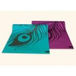 Peacock Feather Yoga & Pilates Mat