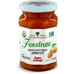 Fiordifrutta Gluten Free Organic Jam Spread, Apricot, 8.82 OZ JAR (Case of  6)