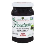 Fiordifrutta Gluten Free Organic Jam Spread, Blackberry, 8.82 OZ (Case of 6)